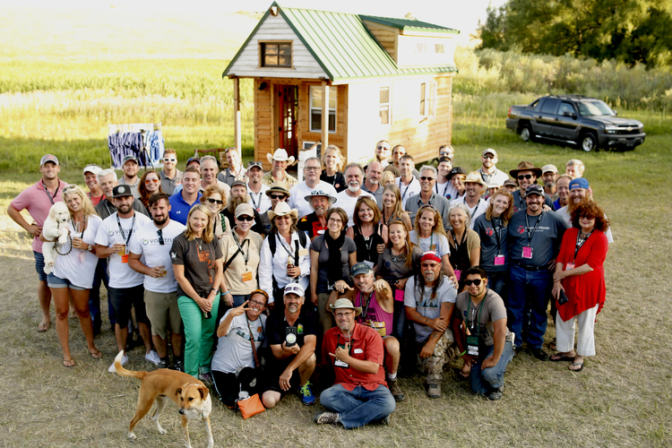 Tiny House Jamboree builders & vendors, Photo by Christian of Team #TinyX