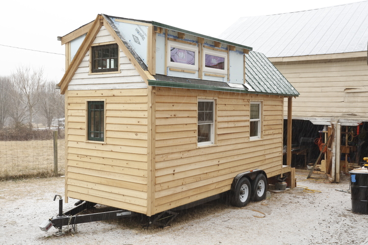 Building our tiny home on wheels