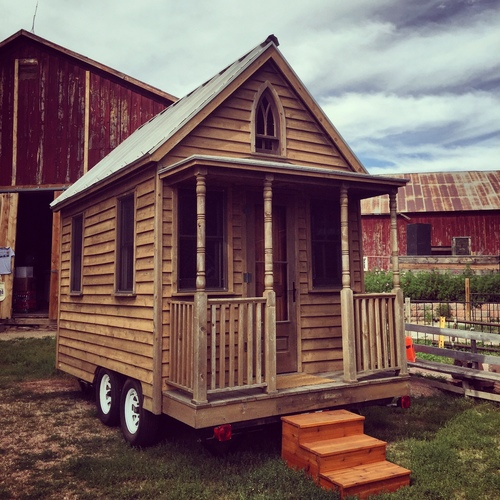 the original Tumbleweed tiny house by Jay Shafer