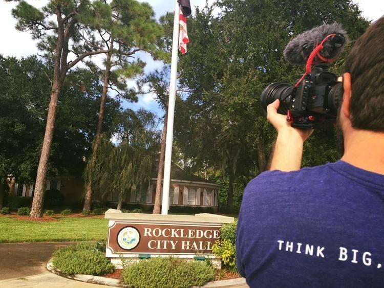 Behing the scenes in Rockledge, FL