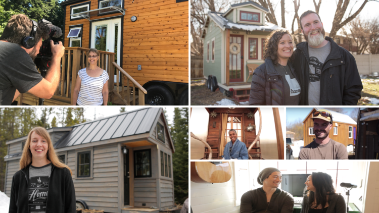 tiny house dwellers