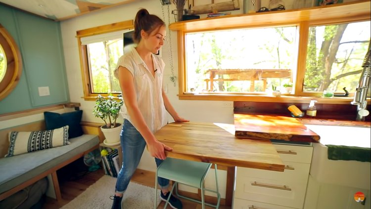 tiny+house+table