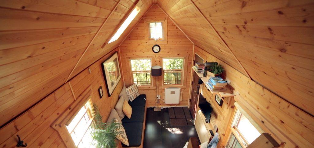 inside the Tiny Tack House