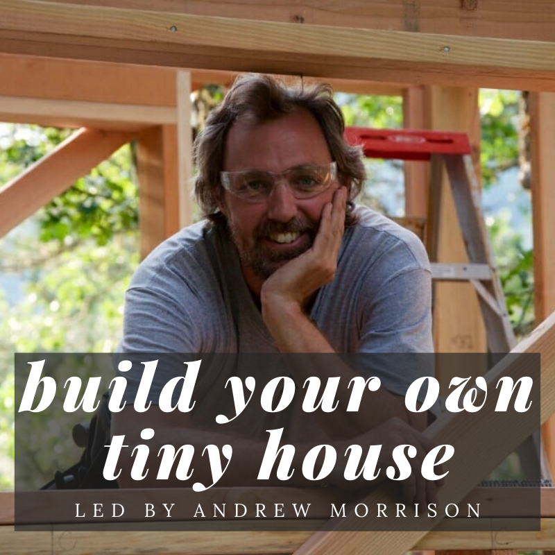 DIY tiny house building