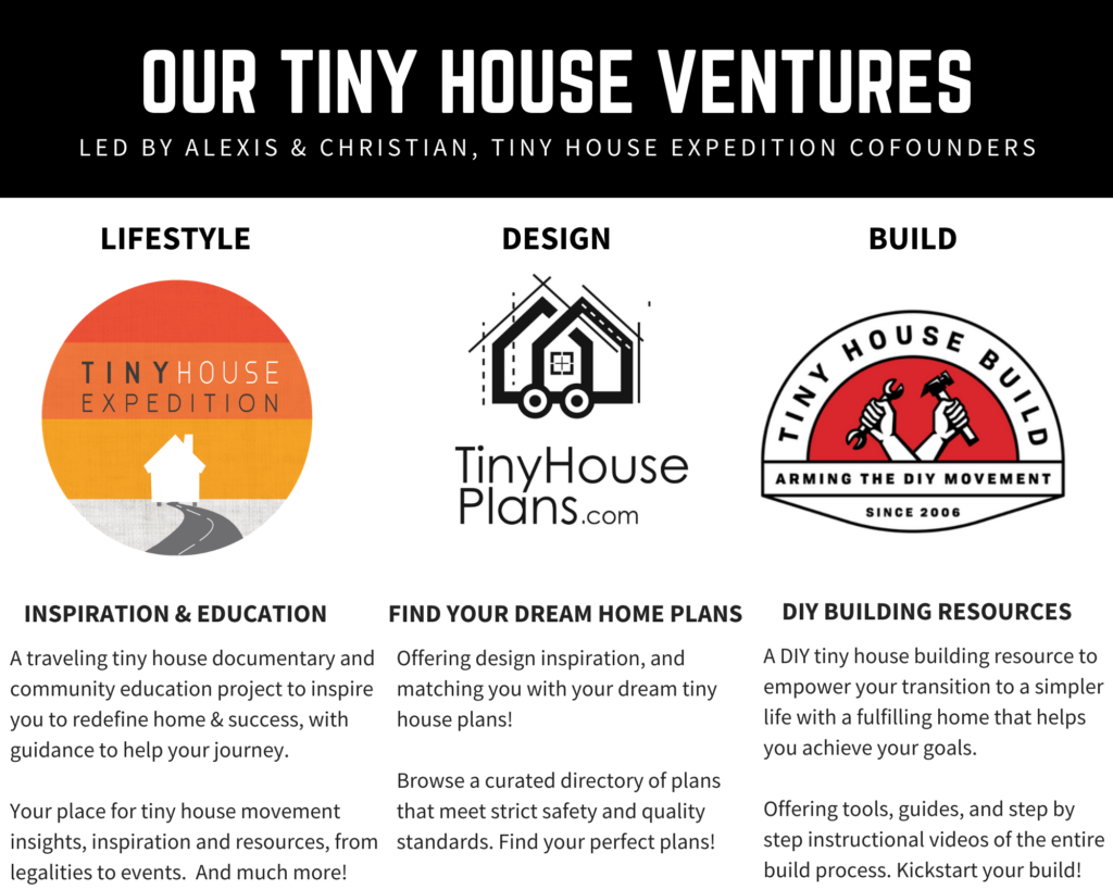 our tiny house ventures
