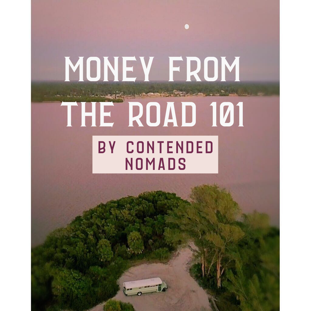 money from the road