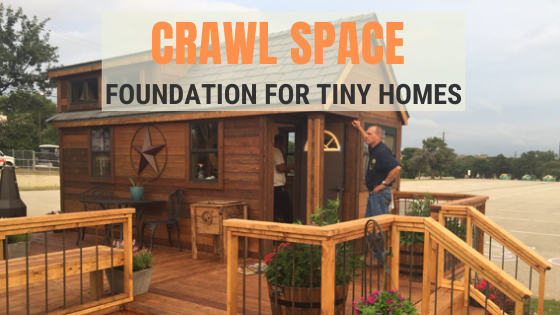 Tiny House Expedition How To Build A Crawl Space Foundation In A