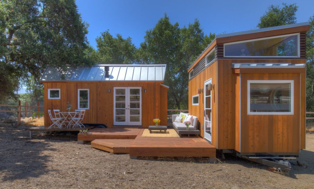 Vina's tiny house and tiny office. Photo: Eileen Descallar Ringwald