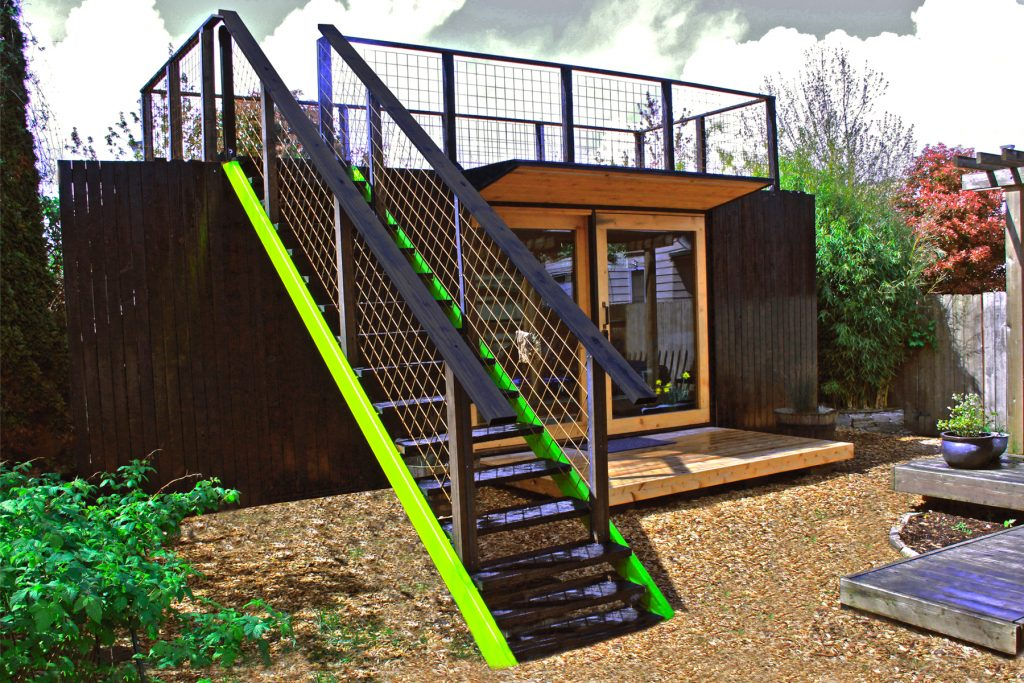Model One - shipping container tiny house