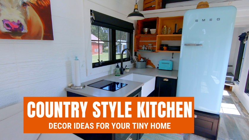 Tiny House Expedition Shabby Chic Cooking 10 Whimsical Tiny Home Ideas For A Country Style Kitchen
