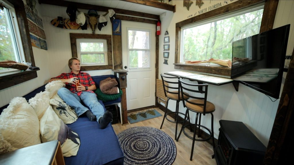 The Rolling Quarters Tiny House - Click to Watch the Tour!