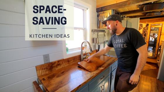 Tiny House Expedition Tiny Home Big Meals 3 Innovative Space Saving Tiny House Kitchen Ideas