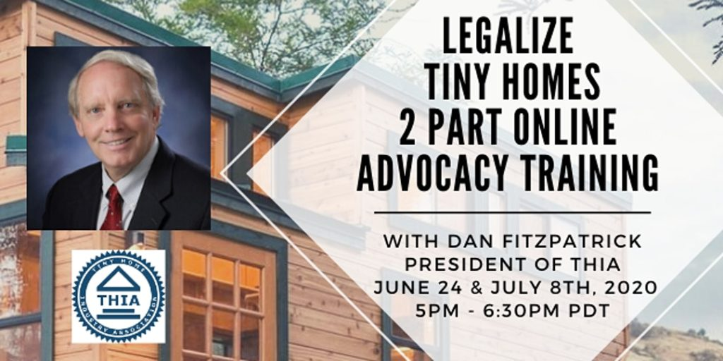 tiny house advocacy training