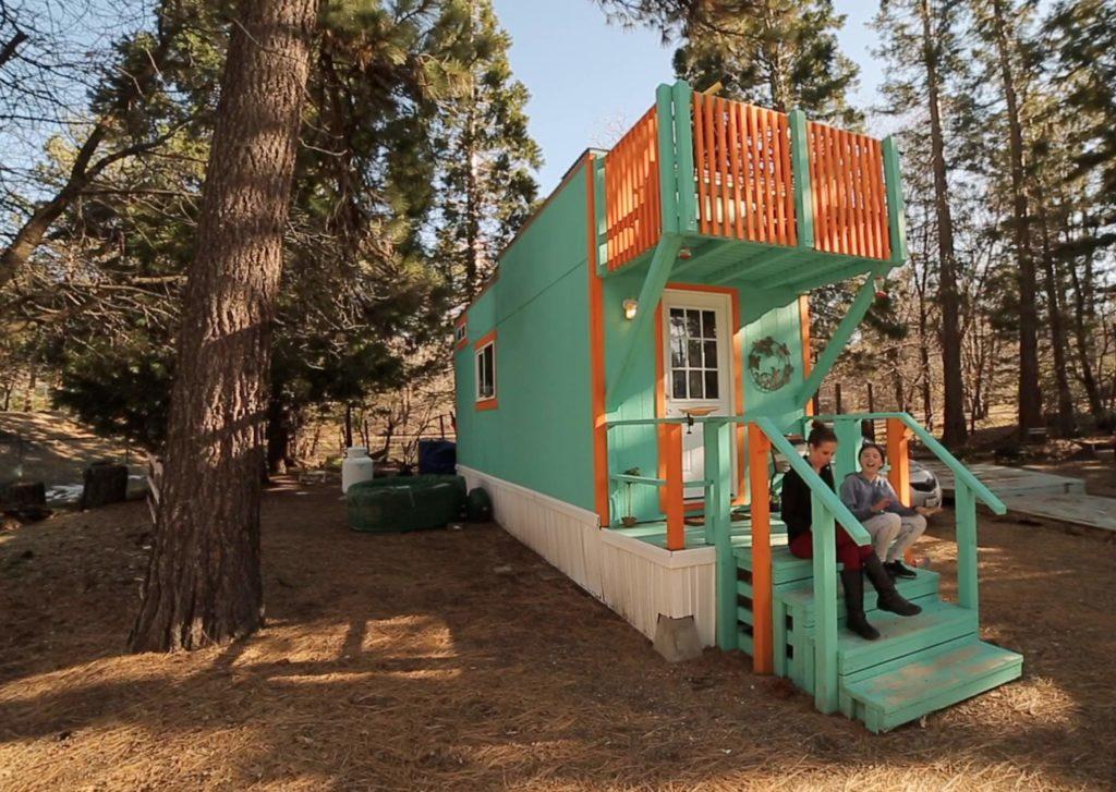 Long-term rental at Tiny House Block - click for a tour!