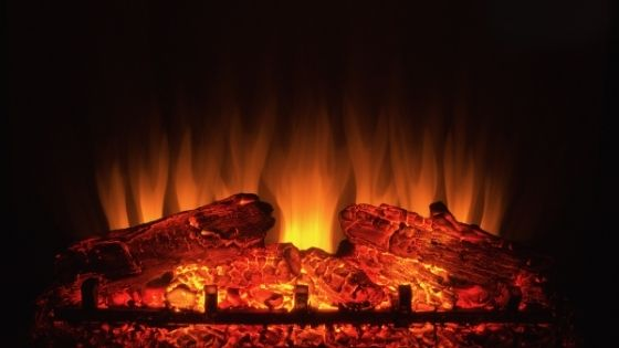 electric fireplace_tiny-house