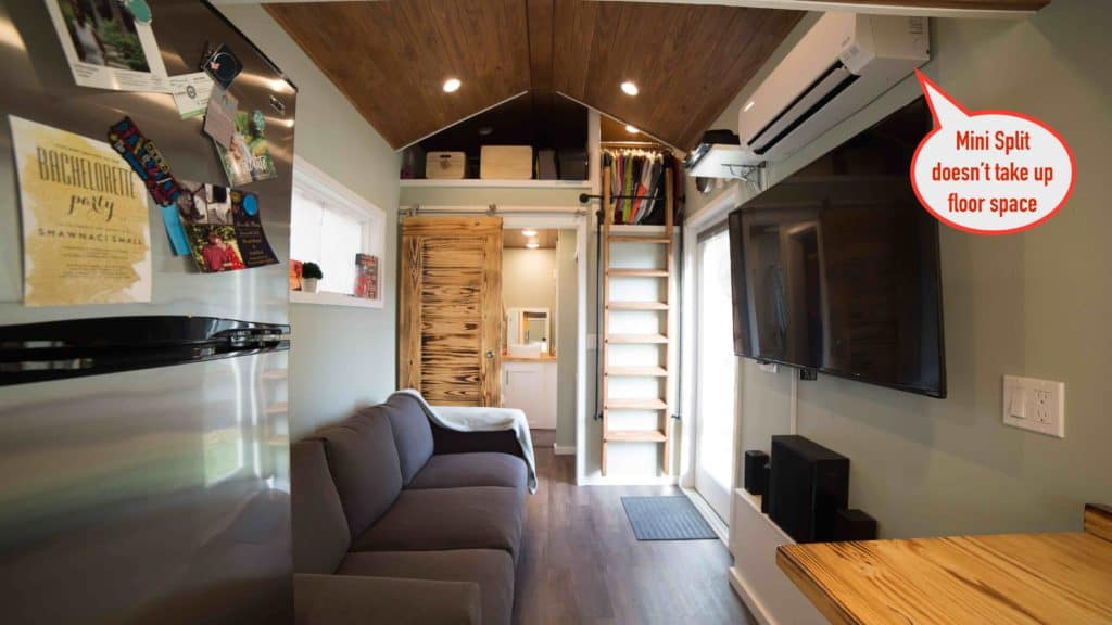 mini-split for tiny house air conditioning, heating & more