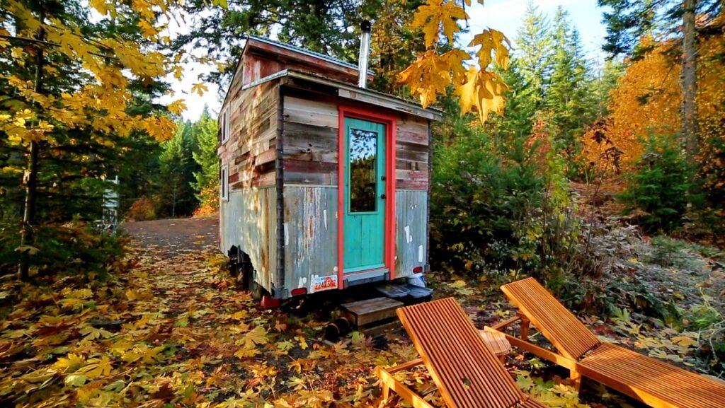 klickitat treehouse and cedar shack tiny house