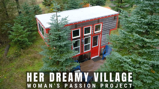 rental tiny house village