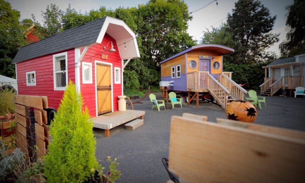 themed tiny houses