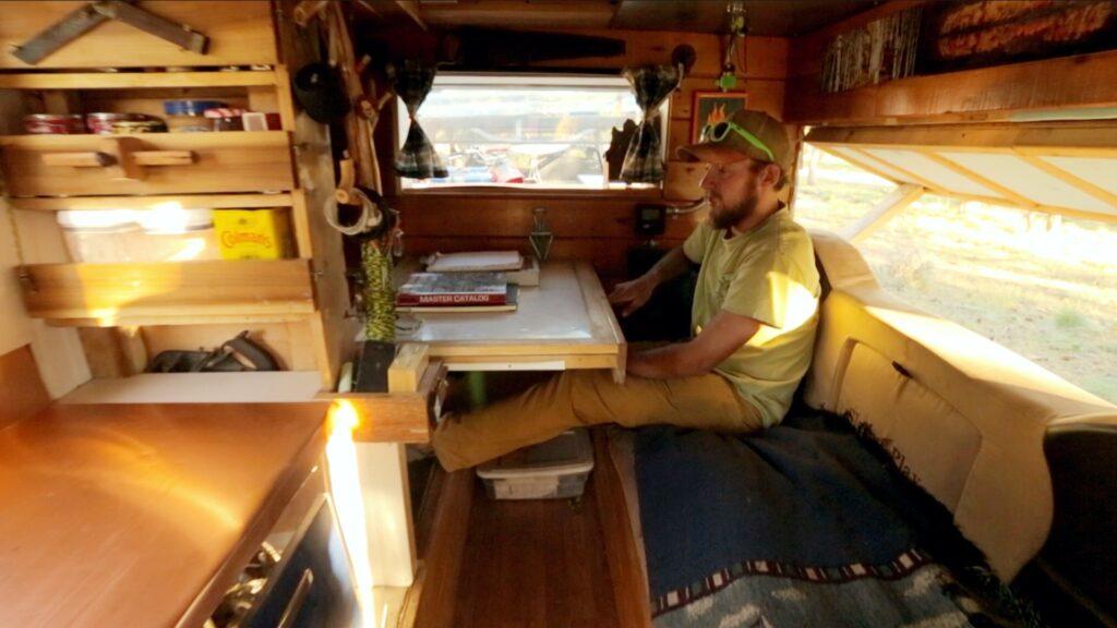 DIY custom camper