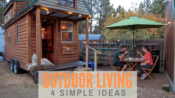 tiny home outdoor space