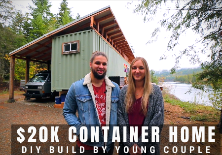 $20k Container Home Build