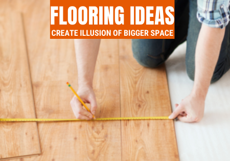 Create the Illusion of Space with Flooring