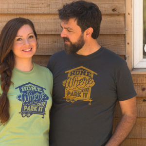 Home is Where You Park It Unisex Tee
