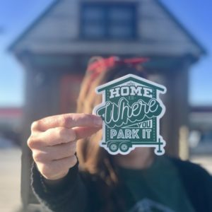 Home is Where You Park It Vinyl Sticker