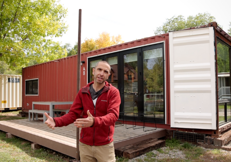 Is This the Most Livable 40-ft Container Home