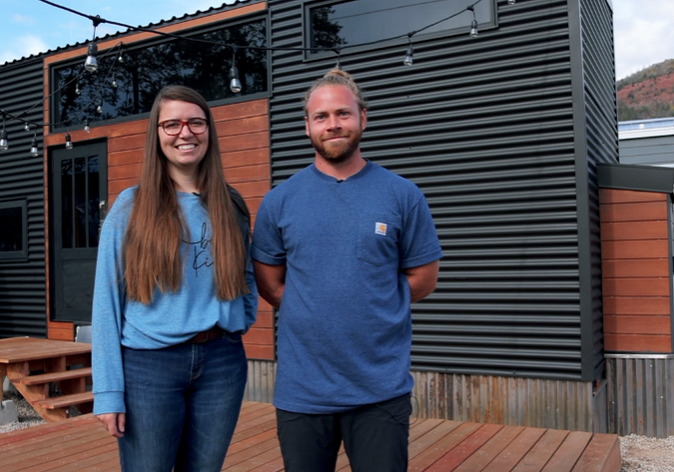 The Pandemic Inspired Couple to Pursue Tiny House Living