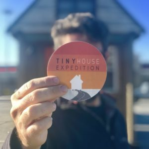 Tiny House Expedition Vinyl Sticker