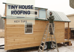 Tiny house roofing how to