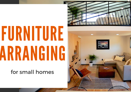 arranging furniture in small homes