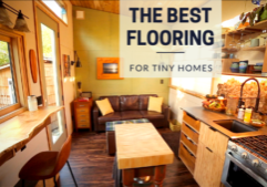 best flooring options for a tiny home