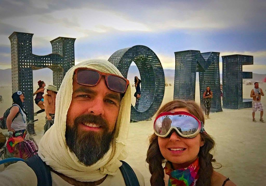 burning man home