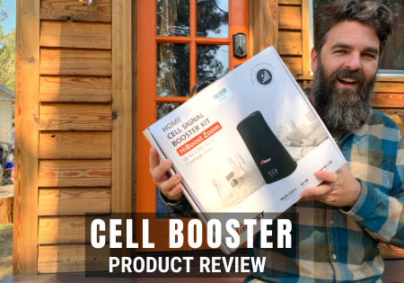 cell signal booster tiny house