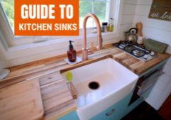 kitchen sink for your tiny home
