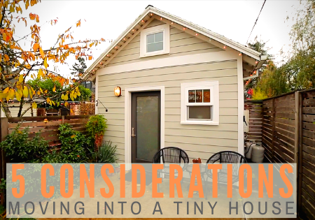 foundation-based tiny house