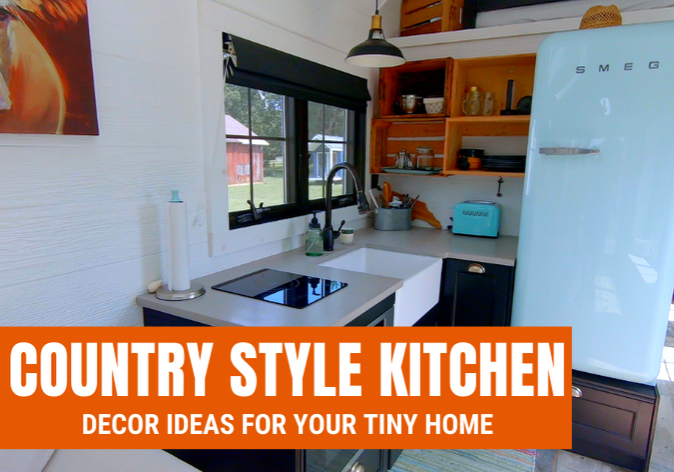 country style tiny home kitchen ideas