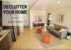 decluttering_clutter free home