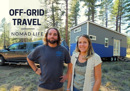 full time tiny house travel