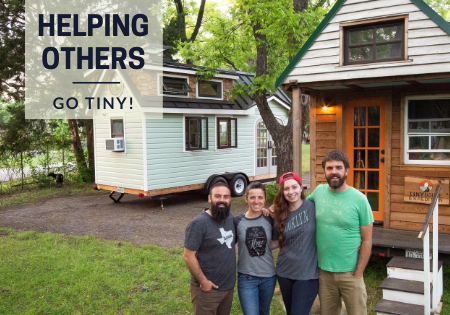 helping others pursure tiny home living