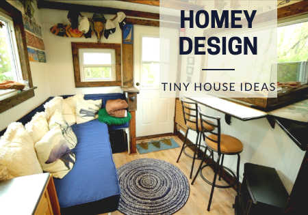 homey tiny house design ideas