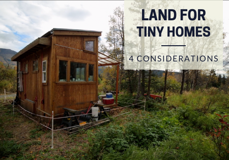 land for tiny houses