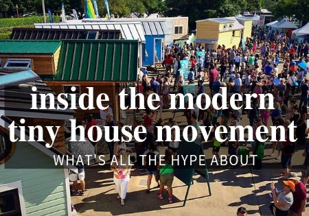 modern tiny house movement