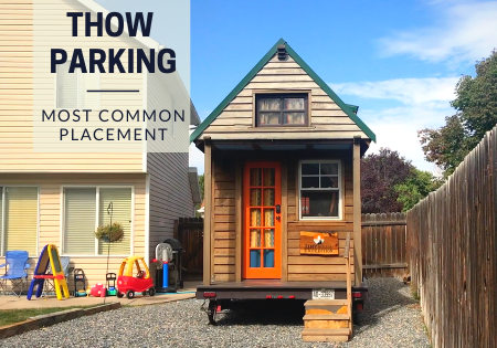 most common tiny house parking