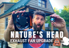nature's head upgrade_diy tiny house how to_