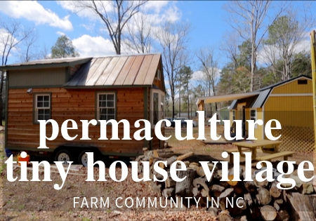 permaculture tiny house community