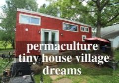 permaculture village tiny house